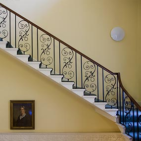 Period staircase at Roehampton College image