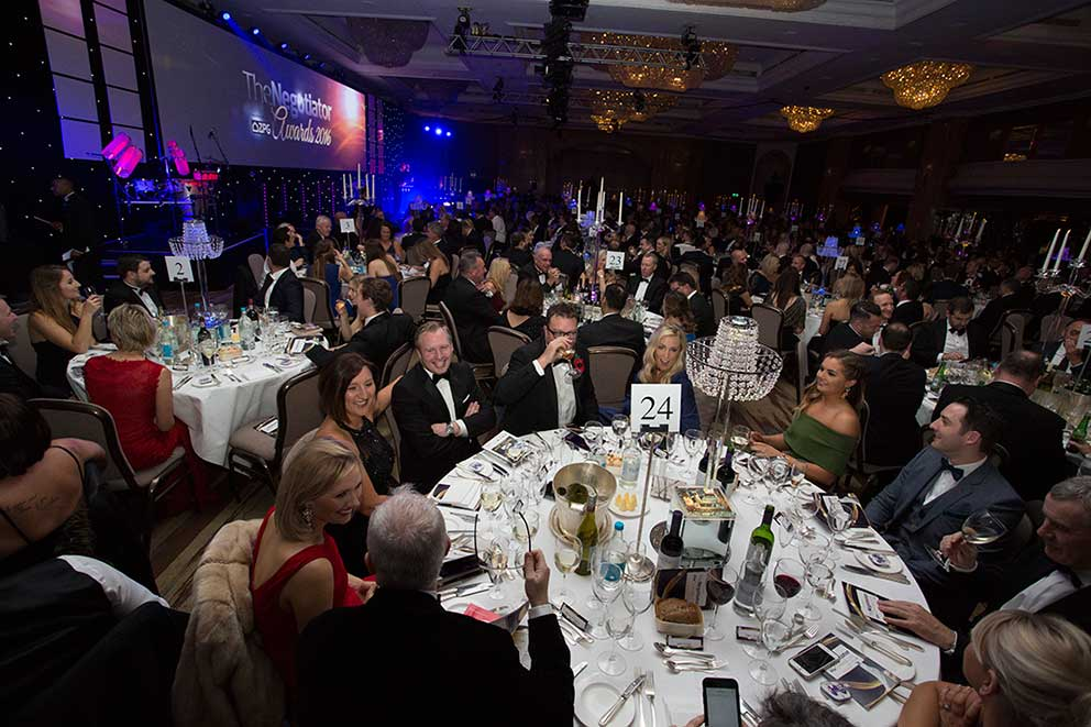 Event Photography The Negotiator Awards gala dinner 2016