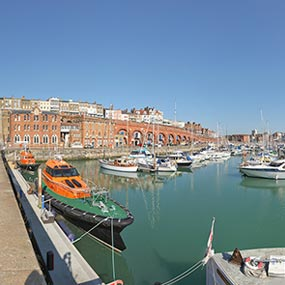 Panoramic Photographer Sussex Kent Ramsgate Harbour image