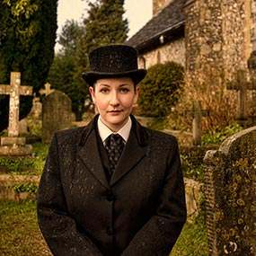 Portrait of Grace Gasson of Cooper & Son, Funeral Directors image