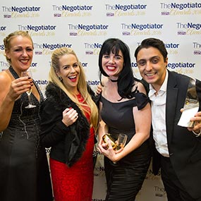 Winners at The Negotiator Awards